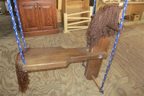 swing horse toy amish toys and swings on pinterest