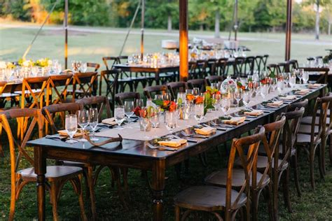 wedding table rentals rent farm tables farmhouse table goodwin events