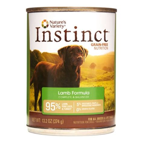 nature s variety food nature s variety instinct grain free formula food 13 2 oz pack of 12