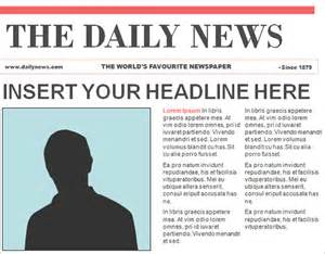 free newspaper template newspaper template free auto design tech