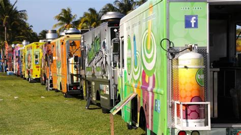 Five Best Food Trucks in Miami   Ben & Jerry?s