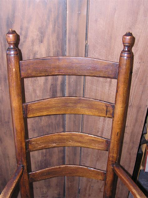 antique shaker chairs value massachusetts shaker style ladder back seated arm