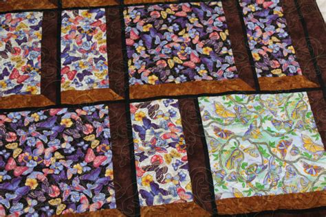 Window Pane Quilt by Butterfly Window Pane Quilt Bird Quilts