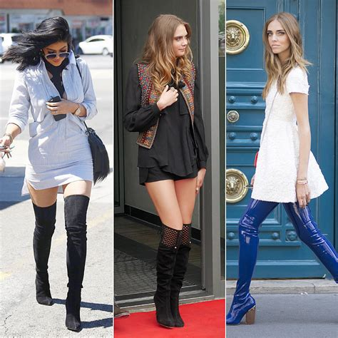 how soon is soon to wear the knee boots
