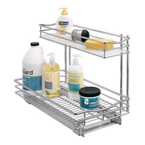 Lynk Roll Out Cabinet Drawers by Lynk Professional Roll Out Sink Cabinet Organizer