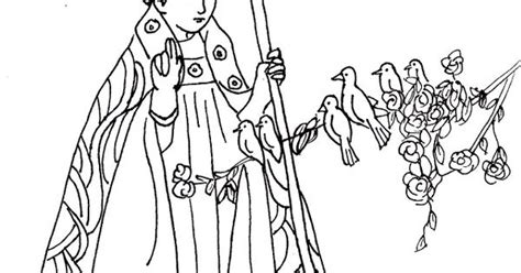 st valentine catholic coloring page feast day is february
