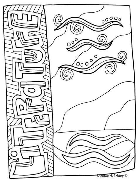 coloring pages for school subjects 28 best images about cover pages on pinterest coloring