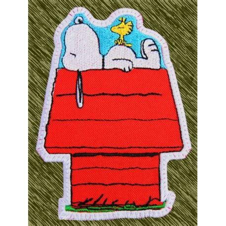 snoopy casa parche bordado snoopy en casa custom13