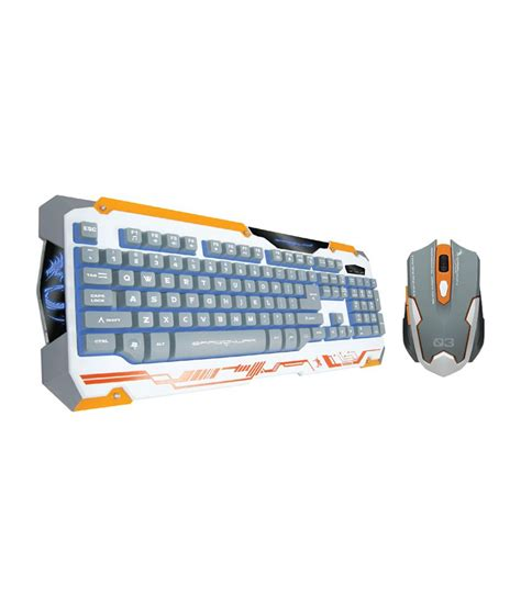 Keyboard Gaming War War X Q3 Gaming Keyboard And Mouse Combo Yellow