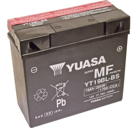 Big Size Bs 292 yuasa yt19bl bs bmw replacment motorcycle battery mds battery