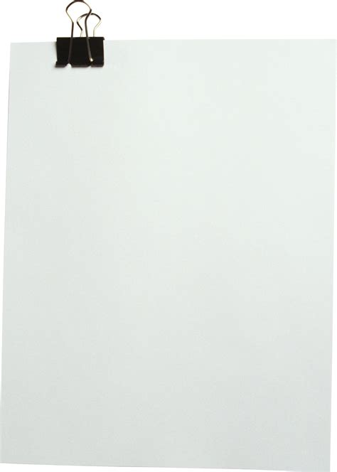 paper sheet   png  transparent