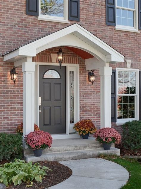 Front Door Portico 1000 Images About Portico Designs On Porch Roof Cool Houses And Porticos