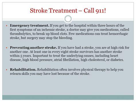 stroke treatment kate gilmore chronic diseases february 18 ppt