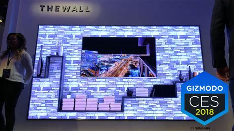 samsung wall tv samsung s new tv is just a wall
