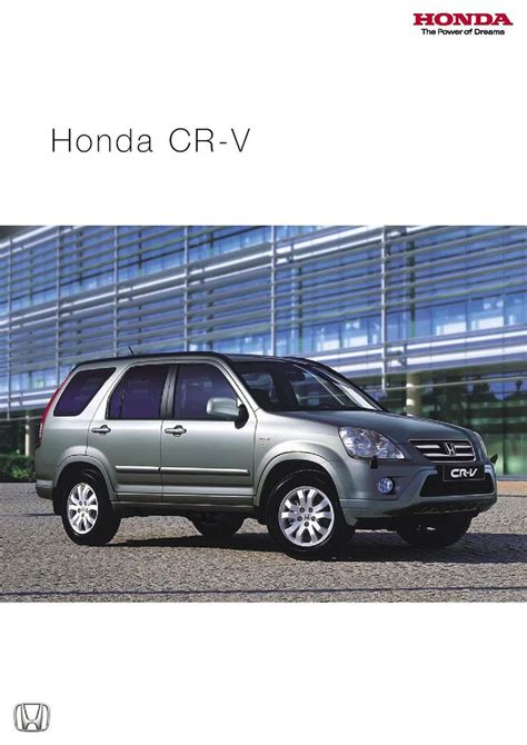 honda cr v brochure 23 best images about honda cr v brochures 2002 2006 on