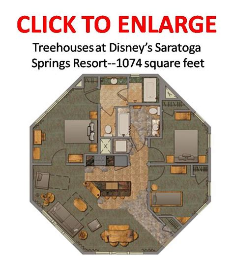 disney saratoga springs treehouse villas floor plan summary of current walt disney world deals and discounts