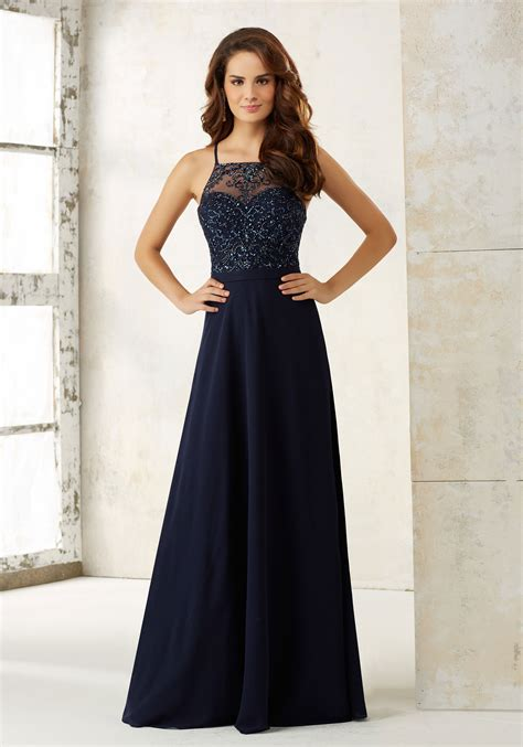 Bridesmaid Dress by Chiffon A Line Bridesmaids Dress Style 21506 Morilee