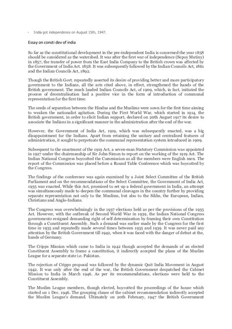 Constitutionalism In Essay by Essay On Our Constitution Constitutional Bar Essay Checklist 268 Words Essay On The