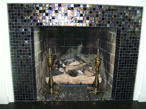 Glass Mosaic Fireplace Surround by Installing Fireplace Tile Surround Can Be Do It