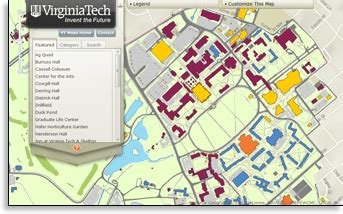 virginia tech map virginia tech map map3