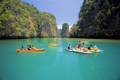 world visits islands   andaman sea thailand