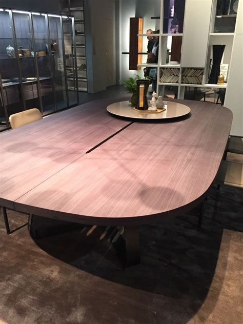 Large oval dining room