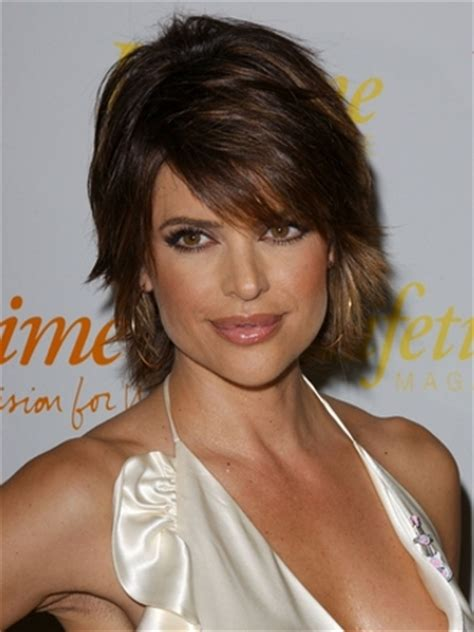 lisa rinna haircut directions lisa rinna haircuts and thick hair on pinterest