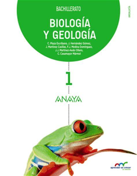 libro bachillerato biologia 1 descargar gratis pdf biologia y geologia 1 bach anaya librer 237 as picasso