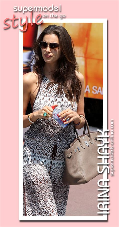 Style On The Go by Supermodels Irina Shayk Supermodel Style On