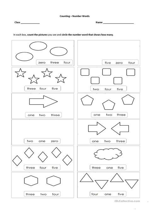 printable english worksheets numbers number words 0 5 worksheet free esl printable