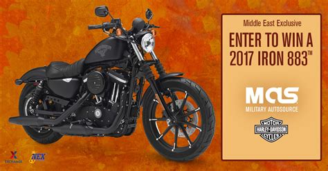 Harley Davidson Giveaway 2017 - military autosource launches annual harley davidson giveaway for service members in