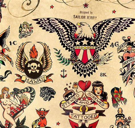 traditional sailor jerry tattoo designs 17 best images about tat on rockabilly ed