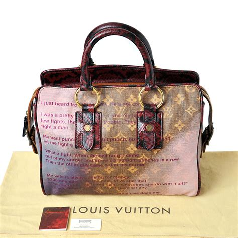 Louis Vuitton Limited Edition 1 louis vuitton limited edition richard prince bag