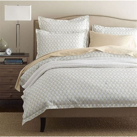 Taupe Duvet Legends Trellis Taupe Sateen Duvet Cover The Company Store