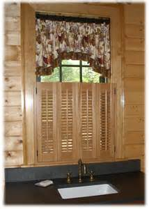 Folding Shutters Interior Pin Stained Bifold Cafe Shutters 2 Windowsjpg On