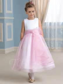 jewel neck tea length flower dress tbdress com