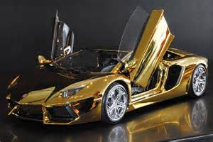Lambo Or A Solid Gold Lamborghini And 6 Other Supercars New York Post