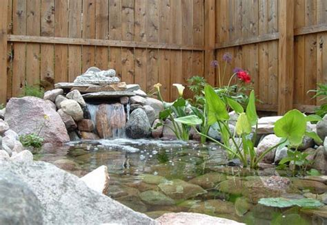 Backyard Pond Ideas With Waterfall 21 Garden Design Ideas Small Ponds Turning Your Backyard Landscaping Into Tranquil Retreats