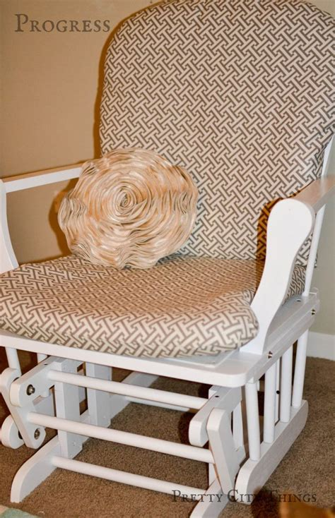 slipcover for rocking chair glider 1000 images about upcycled chairs on pinterest