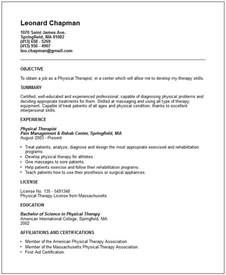 Curriculum Vitae For Physical Therapist by Nursing Cv Examples Search Results Calendar 2015