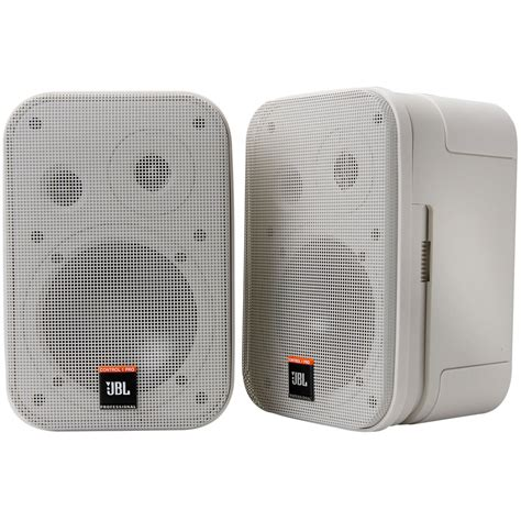 Speaker Jbl 1 jbl 1 pro w 5 1 4 quot 2 way shielded speaker pair white
