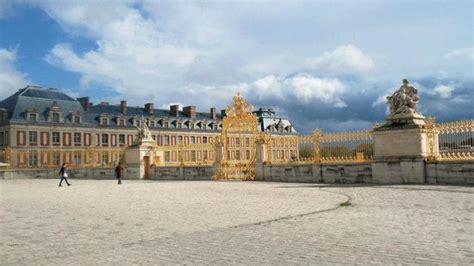 versailles ingresso entrata oro foto di reggia di versailles versailles