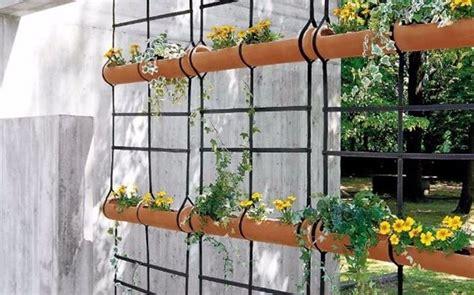 idee per balconi fioriti muri e divisori fioriti pareti divisorie muri e