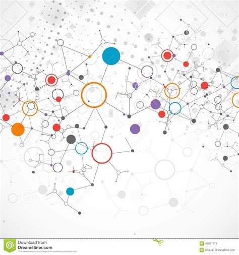 technology colors network color technology communication background stock