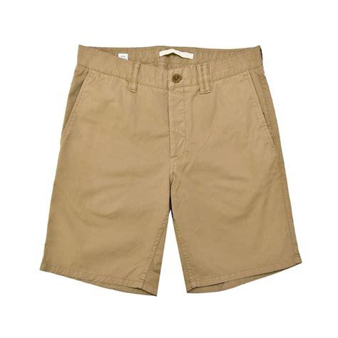 Shorts Khaki norse projects aros light twill khaki shorts in black for