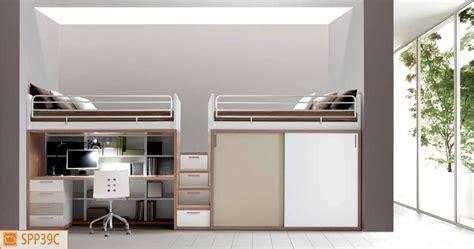 letto con scrivania sotto letto con scrivania sotto decorazione di