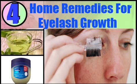 4 home remedies for eyelash growth natural way for