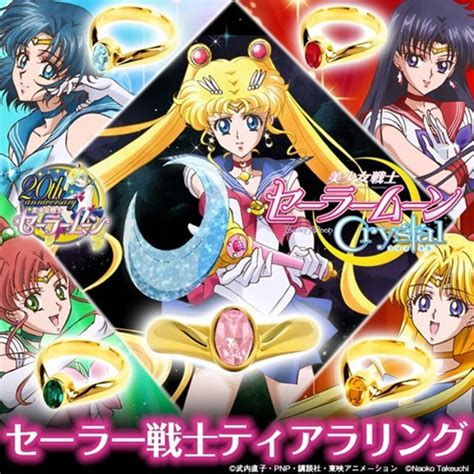 Sailor Moon 07new Releasefree Sul crunchyroll quot sailor soldier tiara ring quot accessory from quot sailor moon quot