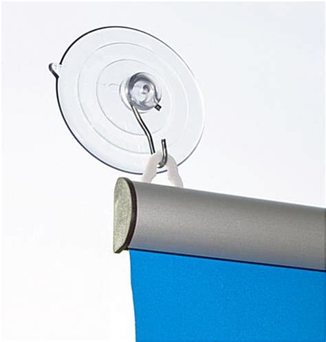 suction cup poster hanger window display 24 quot width
