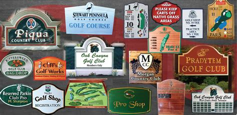 chions golf club plaques golf course country club signs and plaques